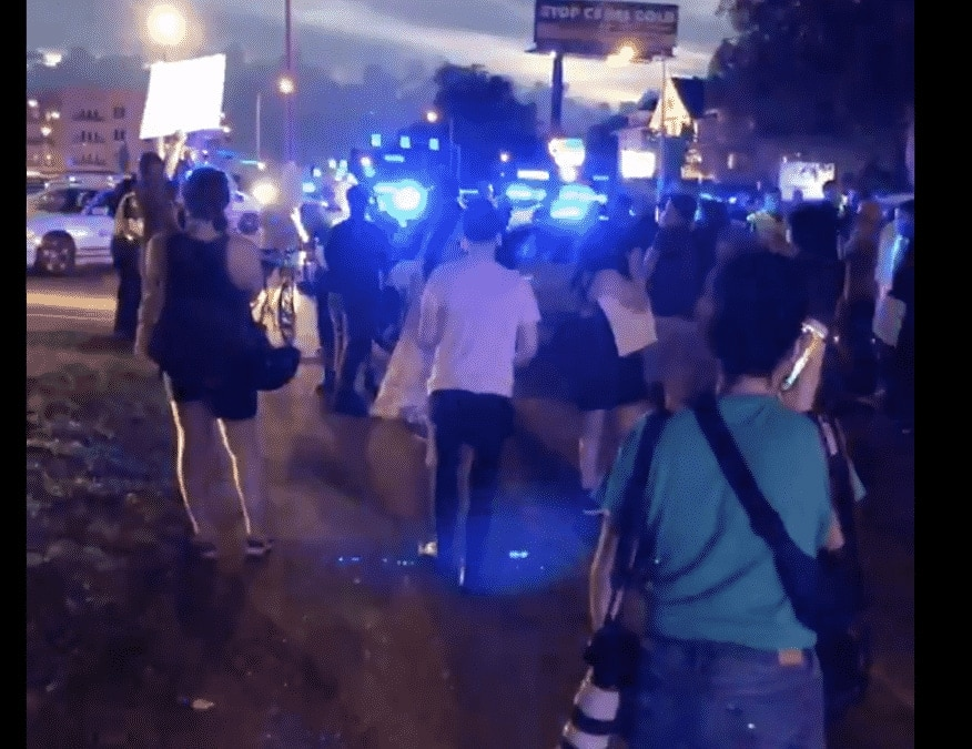 BREAKING NEWS: PROTESTS ERUPT IN MEMPHIS