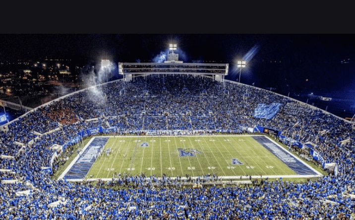 Fans Angry After Memphis Puts BLM Stickers on Football Helmets